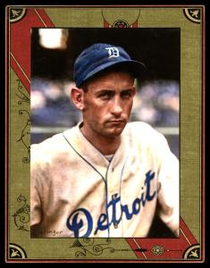 Picture of Helmar Brewing Baseball Card of Charlie GEHRINGER, card number 90 from series Helmar Imperial Cabinet