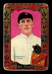 Picture of Helmar Brewing Baseball Card of Frank Smith, card number 145 from series Helmar Oasis