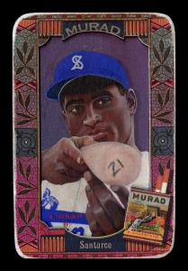 Picture of Helmar Brewing Baseball Card of Roberto CLEMENTE, card number 197 from series Helmar Oasis