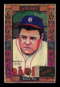 Picture of Helmar Brewing Baseball Card of Babe RUTH (HOF), card number 286 from series Helmar Oasis