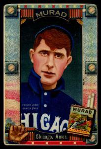 Picture of Helmar Brewing Baseball Card of Fielder Jones, card number 28 from series Helmar Oasis