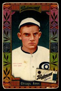 Picture of Helmar Brewing Baseball Card of Chick Gandil, card number 29 from series Helmar Oasis