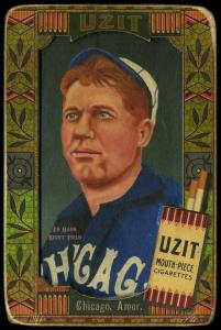 Picture of Helmar Brewing Baseball Card of Ed Hahn, card number 32 from series Helmar Oasis
