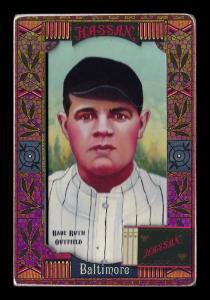 Picture of Helmar Brewing Baseball Card of Babe RUTH (HOF), card number 331 from series Helmar Oasis