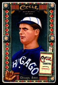Picture of Helmar Brewing Baseball Card of Patsy Dougherty, card number 33 from series Helmar Oasis