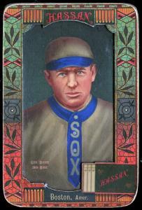 Picture of Helmar Brewing Baseball Card of George DAVIS (HOF), card number 34 from series Helmar Oasis