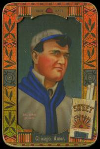 Picture of Helmar Brewing Baseball Card of Bill Burns, card number 37 from series Helmar Oasis