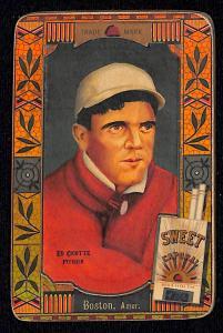 Picture of Helmar Brewing Baseball Card of Eddie Cicotte, card number 4 from series Helmar Oasis