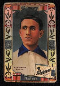 Picture of Helmar Brewing Baseball Card of Kitty Bransfield, card number 73 from series Helmar Oasis