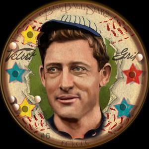 Picture of Helmar Brewing Baseball Card of Ed WALSH (HOF), card number 6 from series Helmar Baseball Heads Score 5!