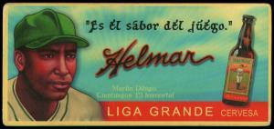 Picture of Helmar Brewing Baseball Card of Martin DIHIGO (HOF), card number 9 from series Helmar Trolley Card Series