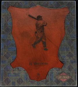 Picture of Helmar Brewing Baseball Card of Hack WILSON, card number 3 from series L1 Helmar Leather Cabinet