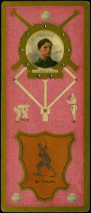 Picture of Helmar Brewing Baseball Card of Ed WALSH (HOF), card number 130 from series L3-Helmar Cabinet