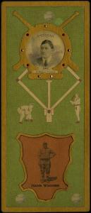 Picture of Helmar Brewing Baseball Card of Honus WAGNER (HOF), card number 29 from series L3-Helmar Cabinet