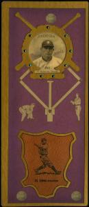 Picture of Helmar Brewing Baseball Card of Harry HEILMANN (HOF), card number 56 from series L3-Helmar Cabinet