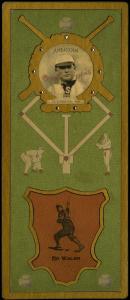 Picture of Helmar Brewing Baseball Card of Ed WALSH (HOF), card number 57 from series L3-Helmar Cabinet