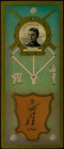 Picture of Helmar Brewing Baseball Card of Elmer FLICK (HOF), card number 58 from series L3-Helmar Cabinet