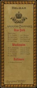 Picture, Helmar Brewing, L3-Helmar Cabinet Card # 70, Chick Gandil, Portrait, Washington Americans