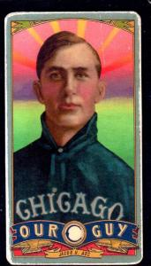 Picture of Helmar Brewing Baseball Card of Jake Adz, card number 148 from series Helmar Our Guy
