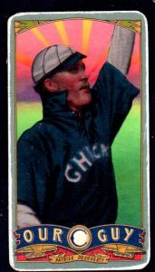 Picture of Helmar Brewing Baseball Card of Patsy Dougherty, card number 151 from series Helmar Our Guy