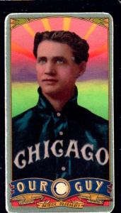 Picture of Helmar Brewing Baseball Card of Patsy Dougherty, card number 152 from series Helmar Our Guy