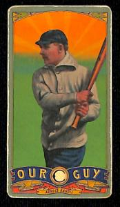 Picture of Helmar Brewing Baseball Card of Chick Gandil, card number 154 from series Helmar Our Guy