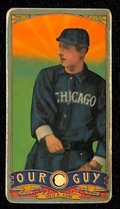 Picture of Helmar Brewing Baseball Card of Lou Fiene, card number 155 from series Helmar Our Guy