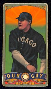 Picture of Helmar Brewing Baseball Card of Frank Isbell, card number 160 from series Helmar Our Guy