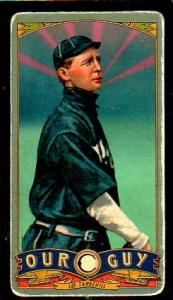 Picture of Helmar Brewing Baseball Card of Lee Tannehill, card number 166 from series Helmar Our Guy