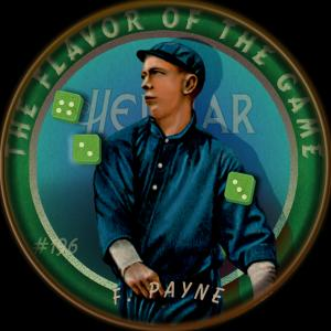 Picture of Helmar Brewing Baseball Card of Fred Payne, card number 196 from series Helmar Our Guy