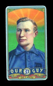 Picture of Helmar Brewing Baseball Card of Hughie JENNINGS (HOF), card number 19 from series Helmar Our Guy