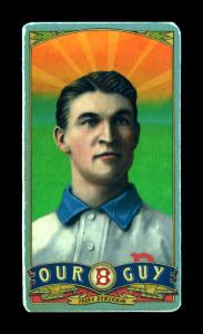 Picture of Helmar Brewing Baseball Card of Frank Bowerman, card number 35 from series Helmar Our Guy