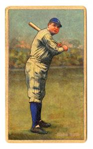 Picture of Helmar Brewing Baseball Card of Babe RUTH (HOF), card number 138 from series Helmar Polar Night