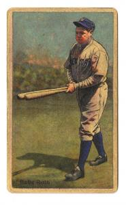 Picture of Helmar Brewing Baseball Card of Babe RUTH (HOF), card number 147 from series Helmar Polar Night