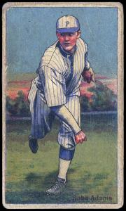 Picture of Helmar Brewing Baseball Card of Babe Adams, card number 153 from series Helmar Polar Night