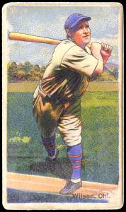 Picture of Helmar Brewing Baseball Card of Hack WILSON, card number 239 from series Helmar Polar Night