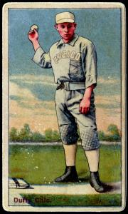 Picture of Helmar Brewing Baseball Card of Hugh DUFFY, card number 31 from series Helmar Polar Night