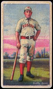 Picture of Helmar Brewing Baseball Card of Hugh DUFFY, card number 62 from series Helmar Polar Night