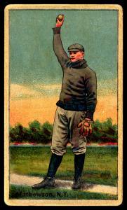Picture of Helmar Brewing Baseball Card of Christy MATHEWSON (HOF), card number 92 from series Helmar Polar Night