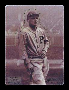 Picture, Helmar Brewing, R318-Helmar Card # 103, Max CAREY, Leaning on bat, Pittsburg Pirates
