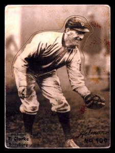 Picture of Helmar Brewing Baseball Card of Fred CLARKE (HOF), card number 109 from series R318-Helmar Hey-Batter!