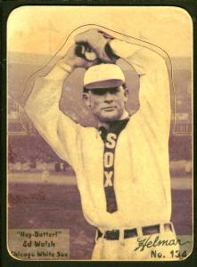 Picture of Helmar Brewing Baseball Card of Ed WALSH (HOF), card number 134 from series R318-Helmar Hey-Batter!