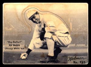 Picture of Helmar Brewing Baseball Card of Ed WALSH (HOF), card number 135 from series R318-Helmar Hey-Batter!