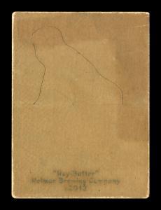 Picture, Helmar Brewing, R318-Helmar Card # 143, Honus WAGNER (HOF), One leg up, Pittsburg Pirates