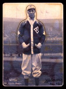 Picture of Helmar Brewing Baseball Card of Vic WILLIS (HOF), card number 15 from series R318-Helmar Hey-Batter!
