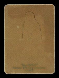 Picture, Helmar Brewing, R318-Helmar Card # 189, Frank Bowerman, Glove at knees, Pittsburg Pirates
