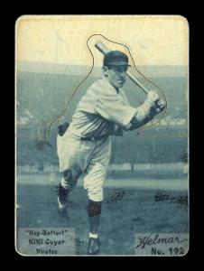 Picture of Helmar Brewing Baseball Card of Kiki CUYLER (HOF), card number 192 from series R318-Helmar Hey-Batter!