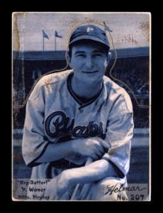 Picture of Helmar Brewing Baseball Card of Paul WANER (HOF), card number 207 from series R318-Helmar Hey-Batter!