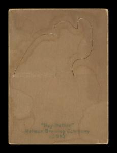 Picture, Helmar Brewing, R318-Helmar Card # 216, Honus WAGNER (HOF), ball held above head, Pittsburgh Pirates