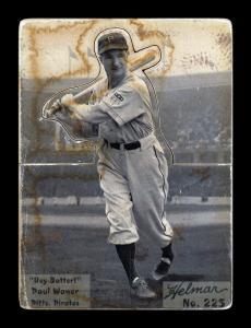 Picture of Helmar Brewing Baseball Card of Paul WANER (HOF), card number 225 from series R318-Helmar Hey-Batter!